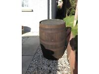 Large Old Barrel - Perfect for garden decoration