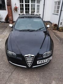 Beautiful Alfa GT jts blackline edition