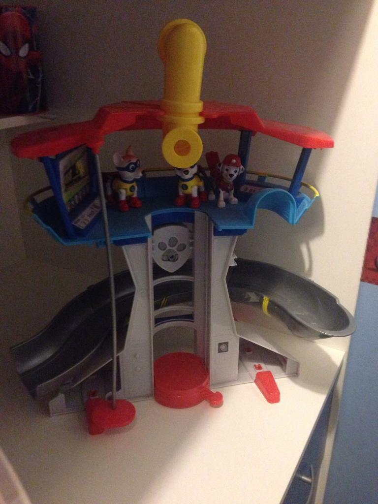 Paw patrol lookout