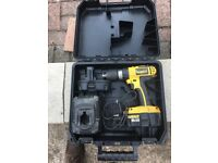 Dewalt 18volt drill plus batteries and charger