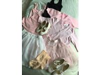 Bundle of Ballet clothing & tap shoes (3-5yrs)