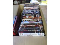 DVD's, some unopened, (a box full)