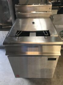 FRYER, FALCON DOMINATOR, USED, ELECTRIC, OPEN PAN, TWIN BASKET, 3 PHASE, EXCELLENT CONDITION £800
