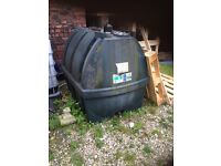 Titan 1220 litre oil tank free for collection
