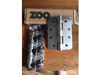 Zoo hinges 70 pairs brushed steel