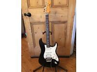 1993 American Fender Floyd Rose Classic HSS Stratocaster Guitar – Black