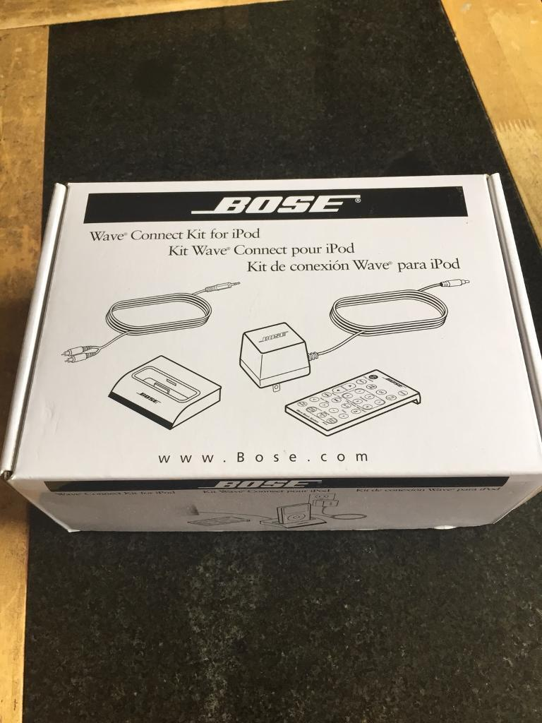 Bose wave connect kit for ipod.