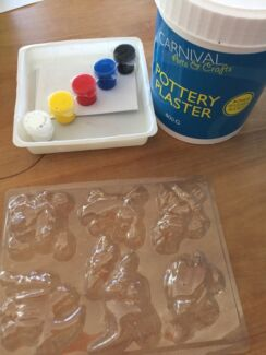 Plaster - make your own with moulds!