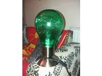 Lampbulb shaped lamp