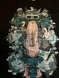 Nike air force 1 T-shirt age 7-8