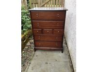 Stag Minstrel large 7 Drawer Chest VGC