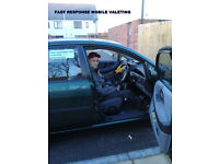 Mobile car valeter with over 20 years expireance. Valet your car wile your at work, or at home.