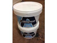 X3 10L tubs of contract Matt armstead colour magnolia