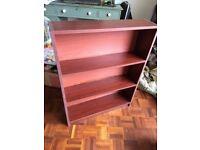 Bookcase - dark wook colour