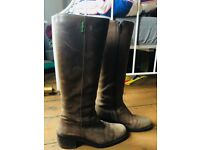 Russell and Bromley boots (size 5)