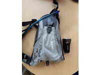 CamelBak Bag and Cateye Bike light