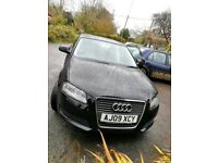 AUDI A3 TECHNIK MPI 2009-Phantom Black-Great condition. Bargain!