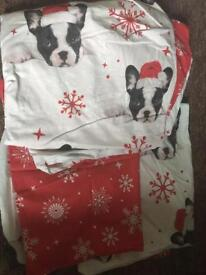 Christmas double duvet set
