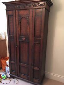 Vintage hall cupboard