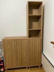 Cupboard + tallboy cabine