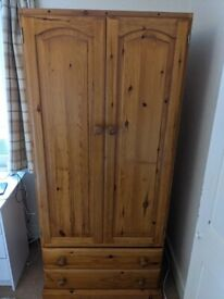 Beautiful wooden wardrobe for sale