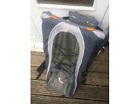 BushBaby Lite baby carrier, grey