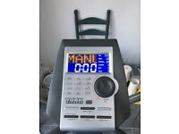 York X301 Diamond Crosstrainer fully working, with chest monitor