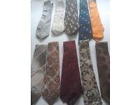 Men's vintage tie's