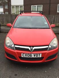1.4 Astra active 16v, low mileage.
