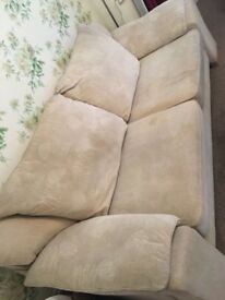 Sofa settee 3 seater very comfortable