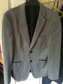 Men grey blazer
