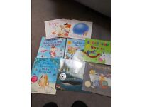 Variety of children's books. All in description