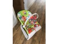 Fisher price baby bouncer that vibrates
