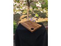 NOW SOLD - Oak Wood block   Chopping Board   Cheese Board