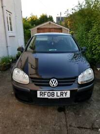 Volkswagen VW Golf 1.6 FSI S (2008) 62,000 miles. 1 previous owner