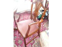 4x dinning room chairs