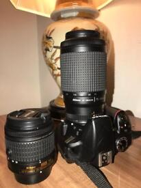 NIKON D3300 with 2 lens + accessories