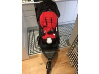 Phil & Teds Dot Double Buggy (incl carrycot, double kit & extra accessories)