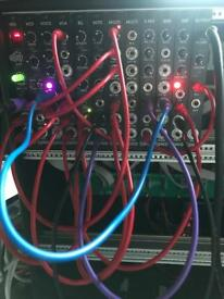 Erica synth pico system and doepfer a100 9u case Eurorack, modular, synth