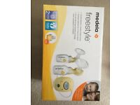 Double Electric breastpump &free breast milk storage bags