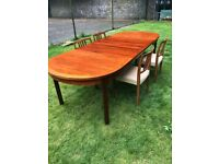 Mid Century Nils Jonsson Rosewood Dining Table (extendable)