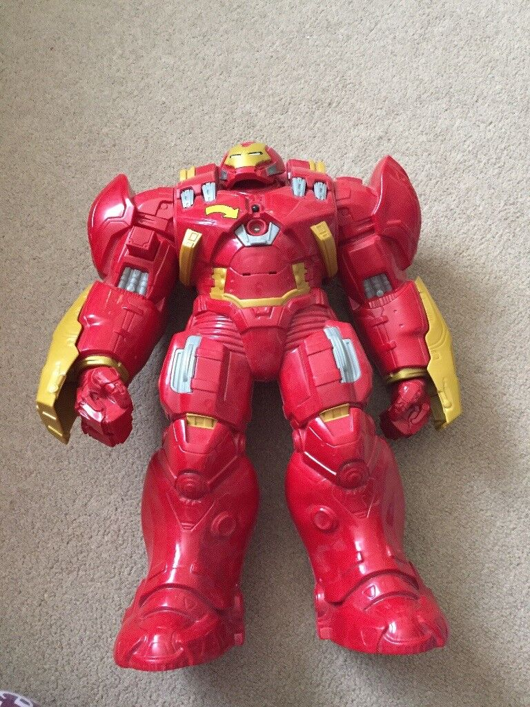 Iron man hulk buster toy