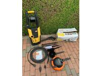 VAX POWER 3 JET WASH / PRESSURE WASHER BOXED WITH LOADS OF ATTACHMENTS
