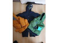 Bundle of baby coats 1 - 1 and 1/2