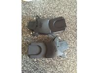 Car seat maxi cosi adaptors to go on upperbaby buggy