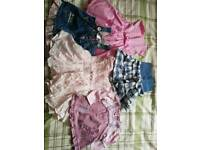 Big bundle of clothes. Girl 6-9mnths