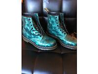 Ladies Doc Marten Boots 1460 Emerald Jewel
