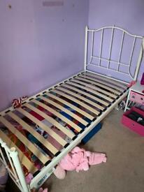 Dreams cream single bed