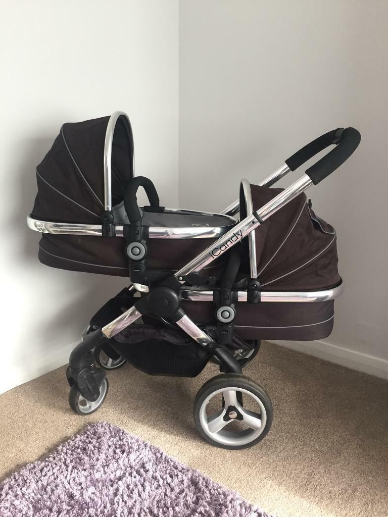 ae6112d89448 iCandy Peach Blossom twin double pram