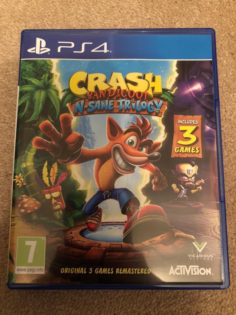 Crash Bandicoot: N-Sane Trilogy PS4
